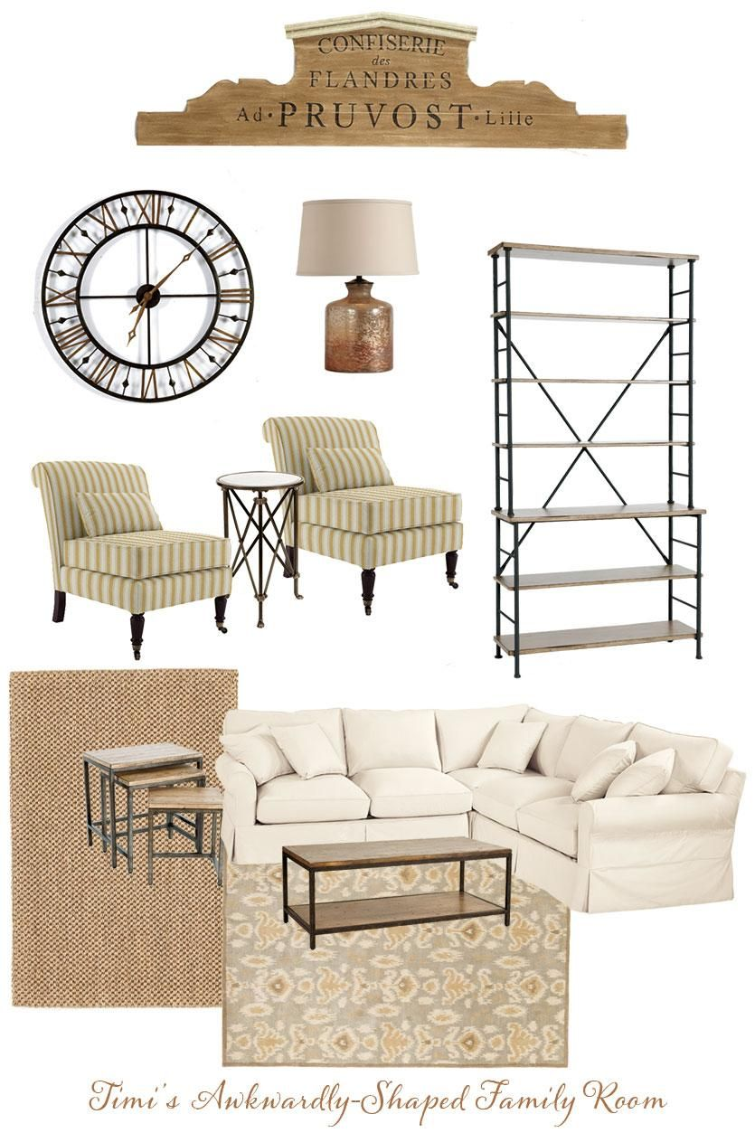 Narrow Living Room Solutions: Decorating Dilemma: Timi's Family Room