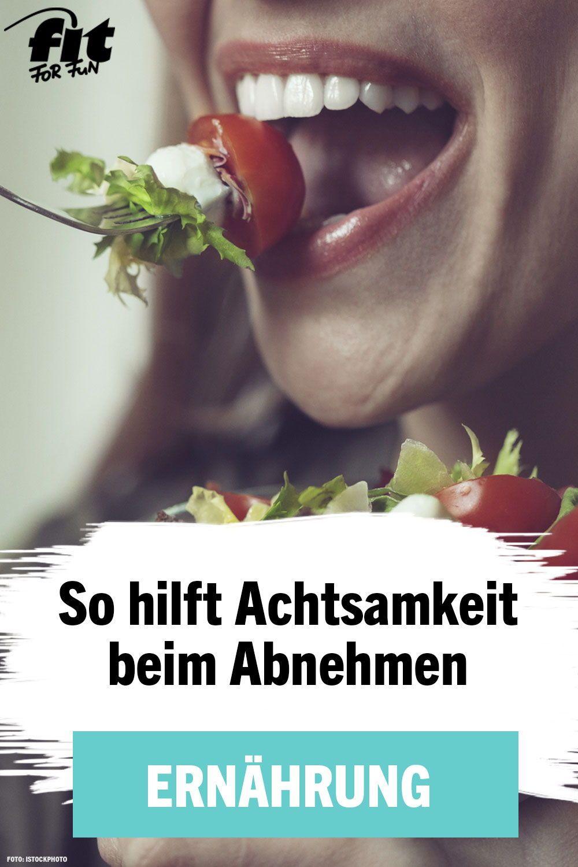 Langsam essen: Abnehmen durch mehr Achtsamkeit | Abnehmen
