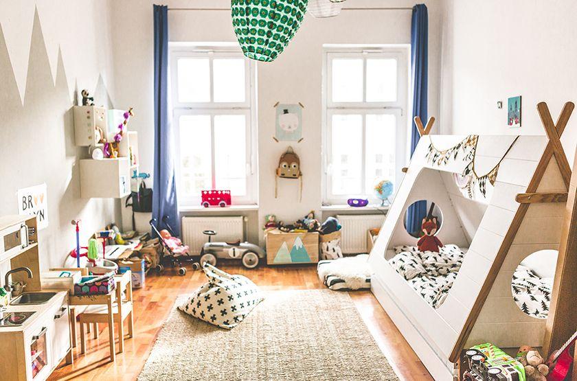 kinderzimmer in berlin, kids room in berlin for toddler