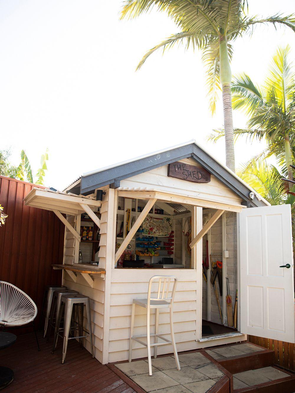 Beloved Backyard Bar Set for Colourful Caribbean Makeover