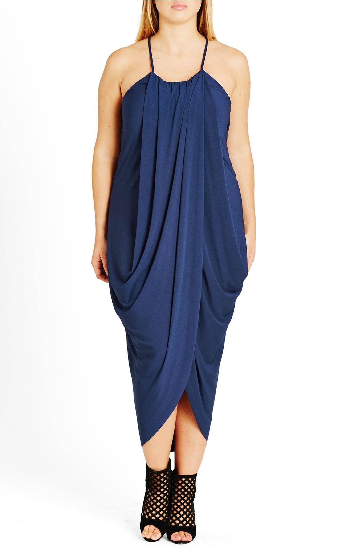City chic slinky wrap maxi dress plus size nordstrom
