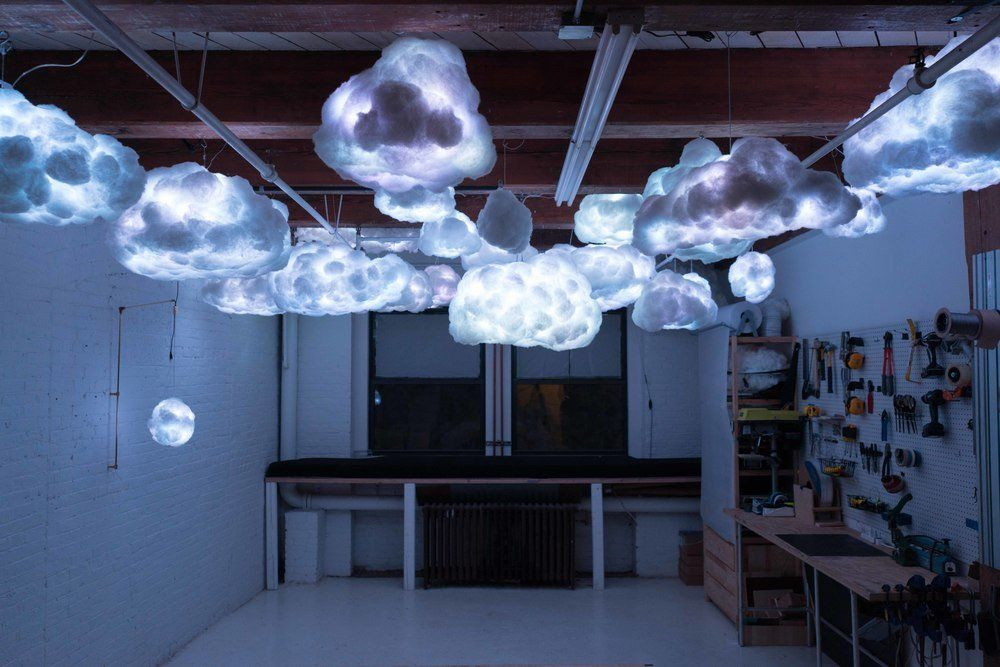 RGB Cloud The Colossal Shop (With images) Cloud lamp