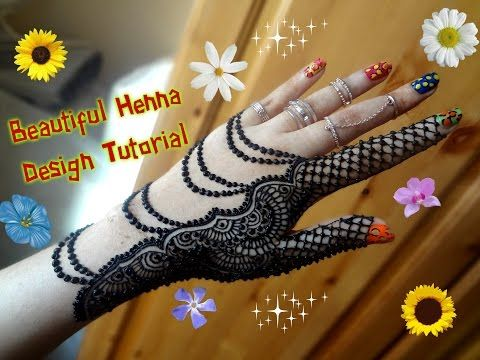 Simple Mehndi 2017 : How to apply easy simple beautiful glove henna mehndi designs for