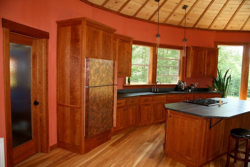 Another Yurt Kitchen Yurt Interior Yurt Home Yurt Kits