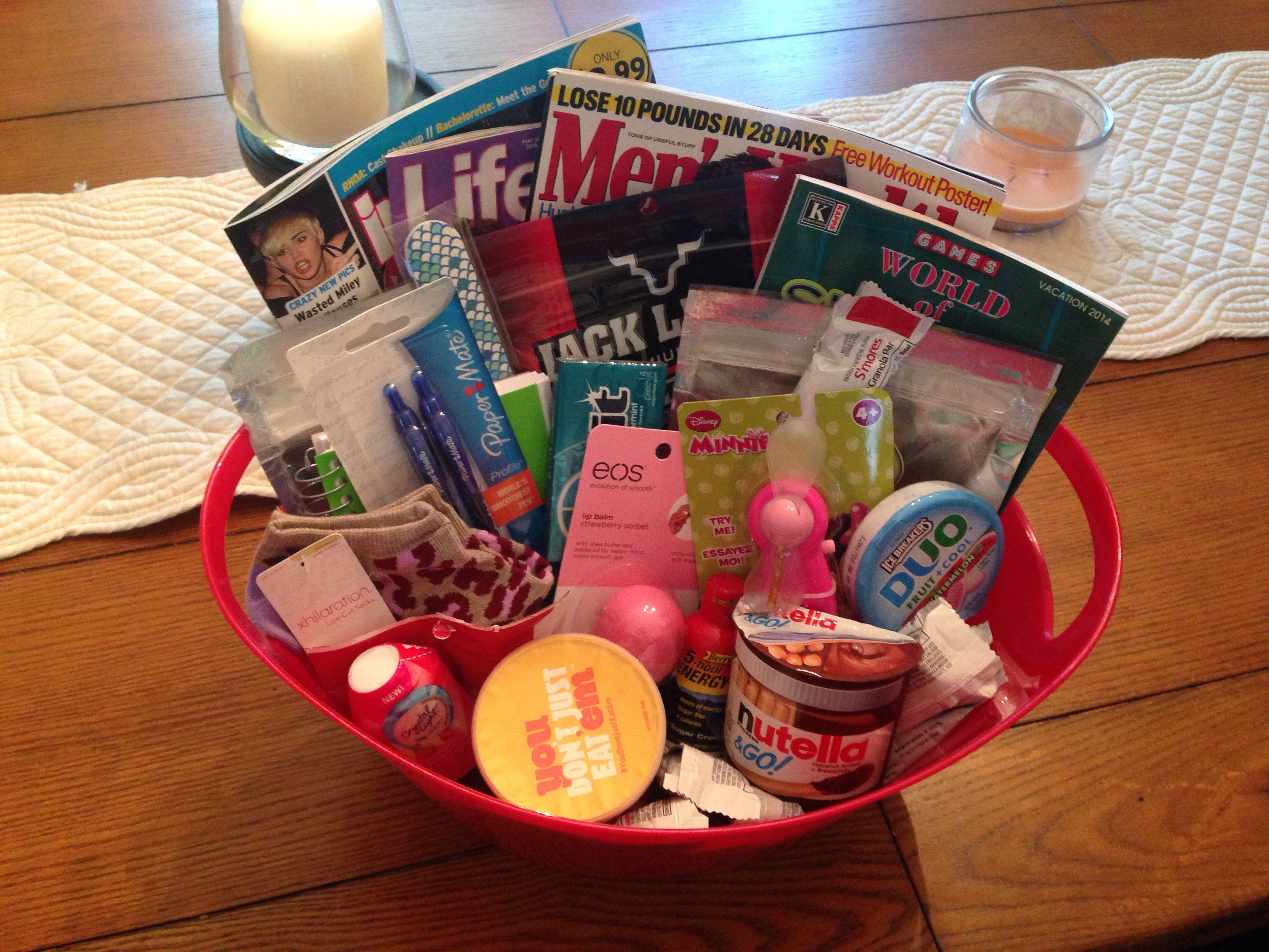 Labor And Delivery Hospital Survival Kit Baby Shower Gift Snack Basket