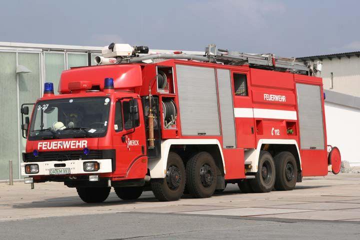 Werkfeuerwehr Merck Werkfeuerwehr Mercedes Rosenbauer Fire