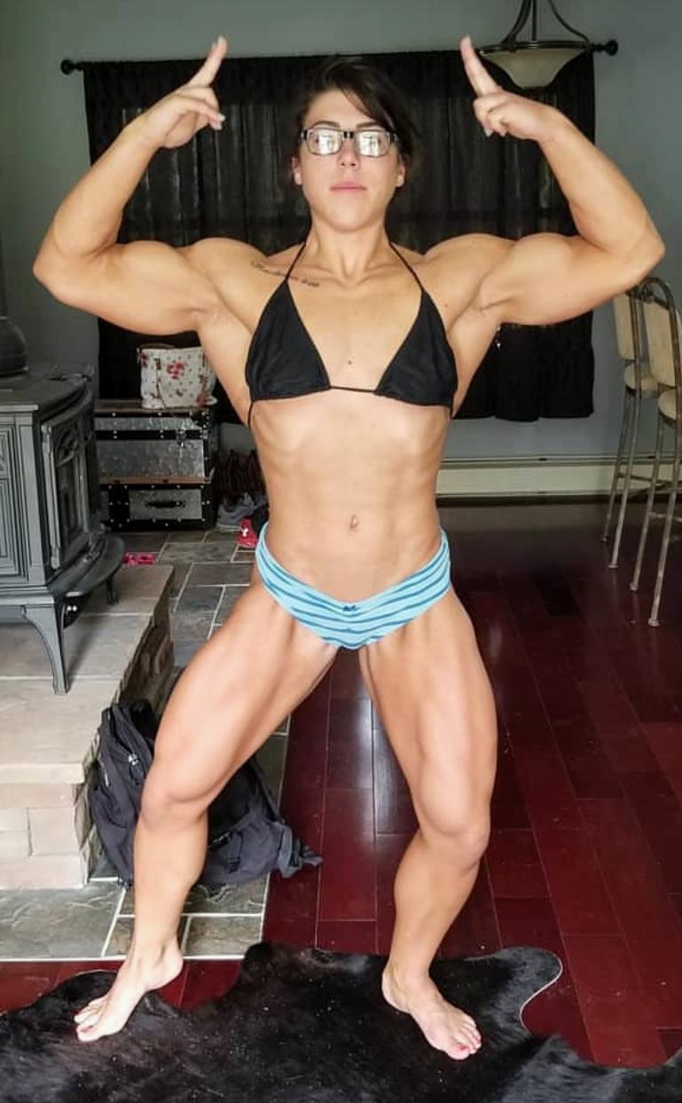 Muscle Women Porn pinmr b on fit | fit women bodies, body building women