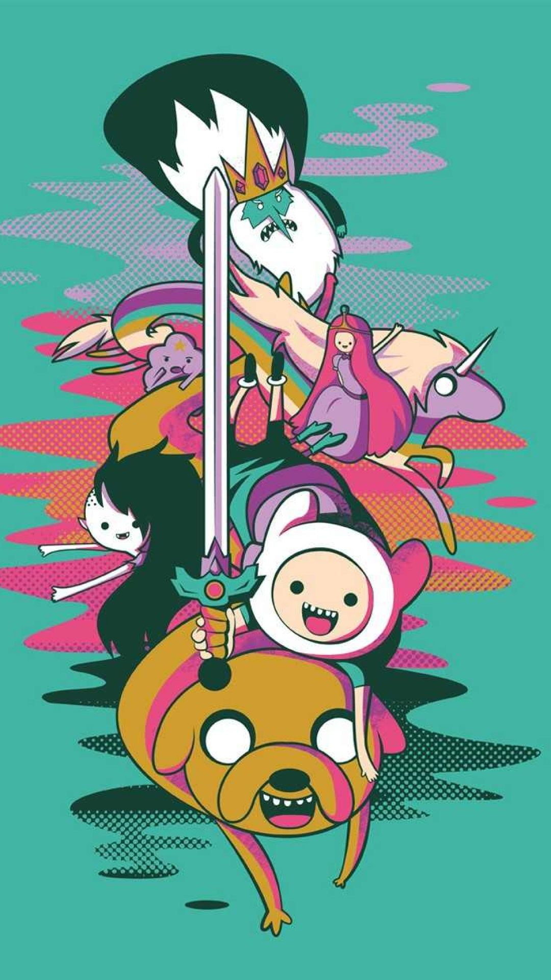 Adventure Time Mobile Wallpaper Adventure Time Wallpaper Adventure Time Iphone Wallpaper Jake Adventure Time
