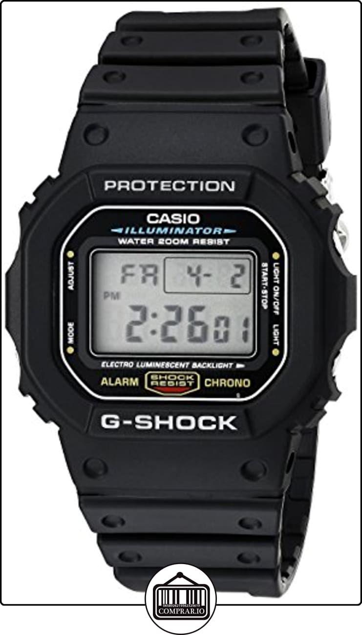 fe3db30ff5de Reloj CASIO G-SHOCK DW-5600E-1V Cronógrafo