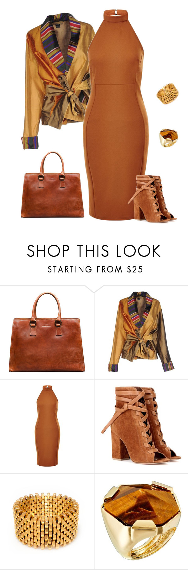 """""""outfit 3531"""" by natalyag ❤ liked on Polyvore featuring Gianvito Rossi, Alice Menter and Vince Camuto"""
