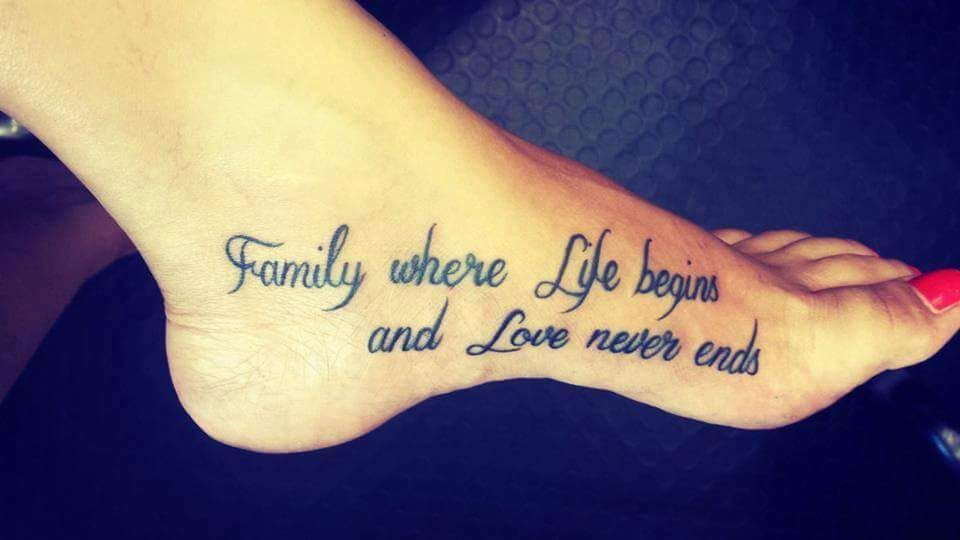 40 Best Literary Quote Tattoos For The Book Lovers | Family ...