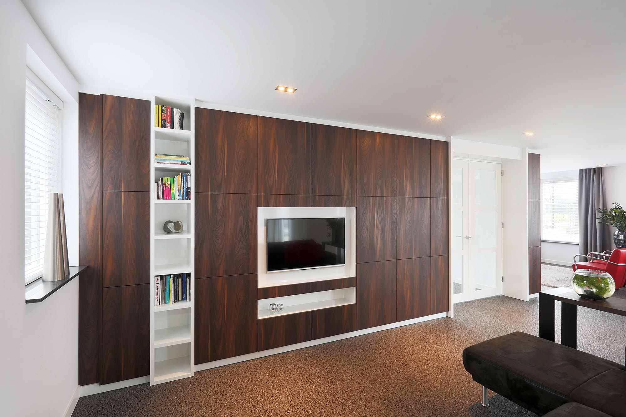 Afbeeldingsresultaat voor kastenwand woonkamer | Personal Choices ...