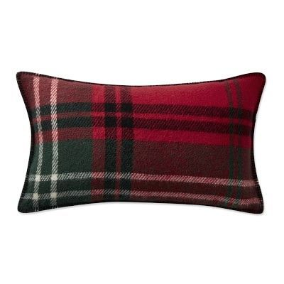 Italian Lambswool Lumbar Pillow Classic Red Williams Sonoma Extraordinary Italian Decorative Pillows