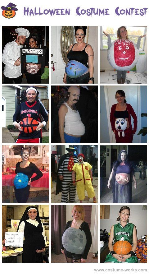 Halloween Costume Ideas for Pregnant Women the first basketball one - halloween costume ideas for pregnancy