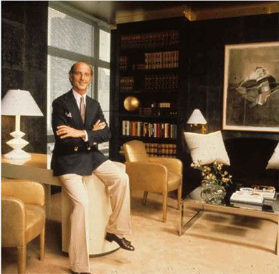 In another life this man was our interior designer and financial consultant