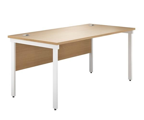 Great Value Office Bench Desk Available In 3 Clic Colours Sizes And The