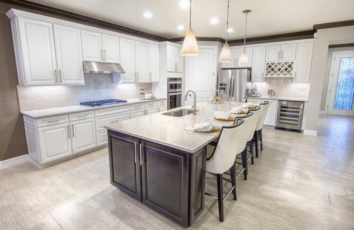 Kitchen with island | Copperleaf Ideas | Pinterest | Kitchens