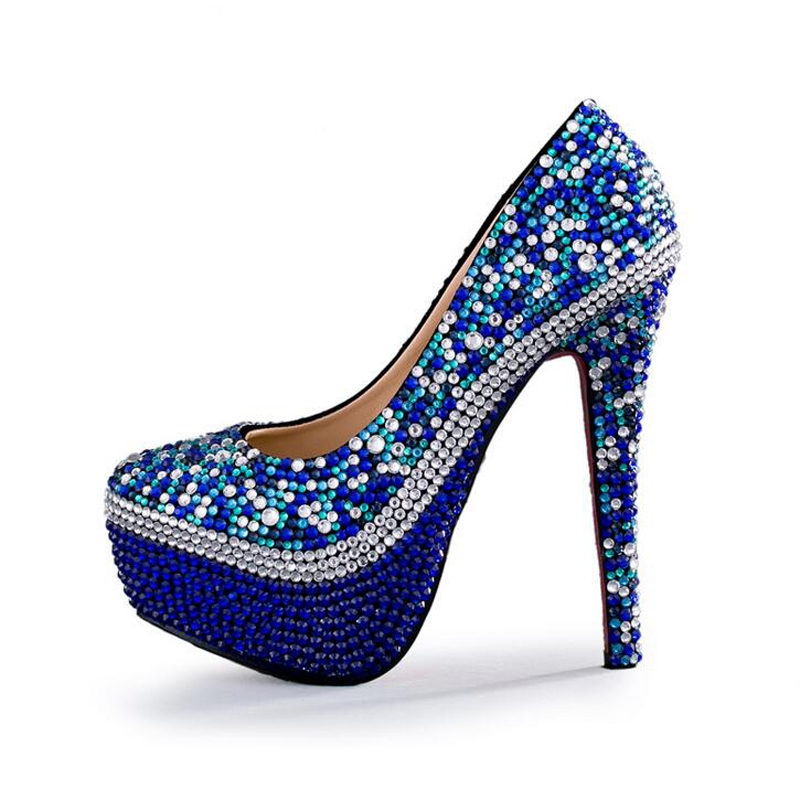 Shoes Purple Quality Shoe Directly From China Stan Suppliers Royal Blue Rhinestone Wedding Handmade Gorgeous Party Prom