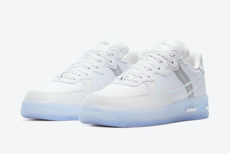 Nike Air Force 1 React White Ice CQ8879