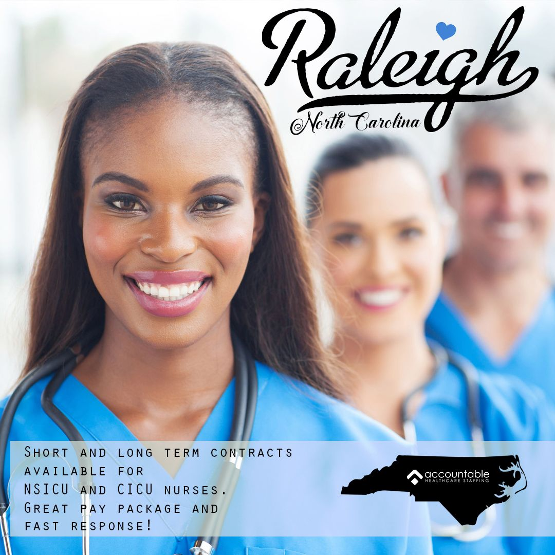 Immediate Needs For Icu Rns In Raleigh Nc Local Contracts