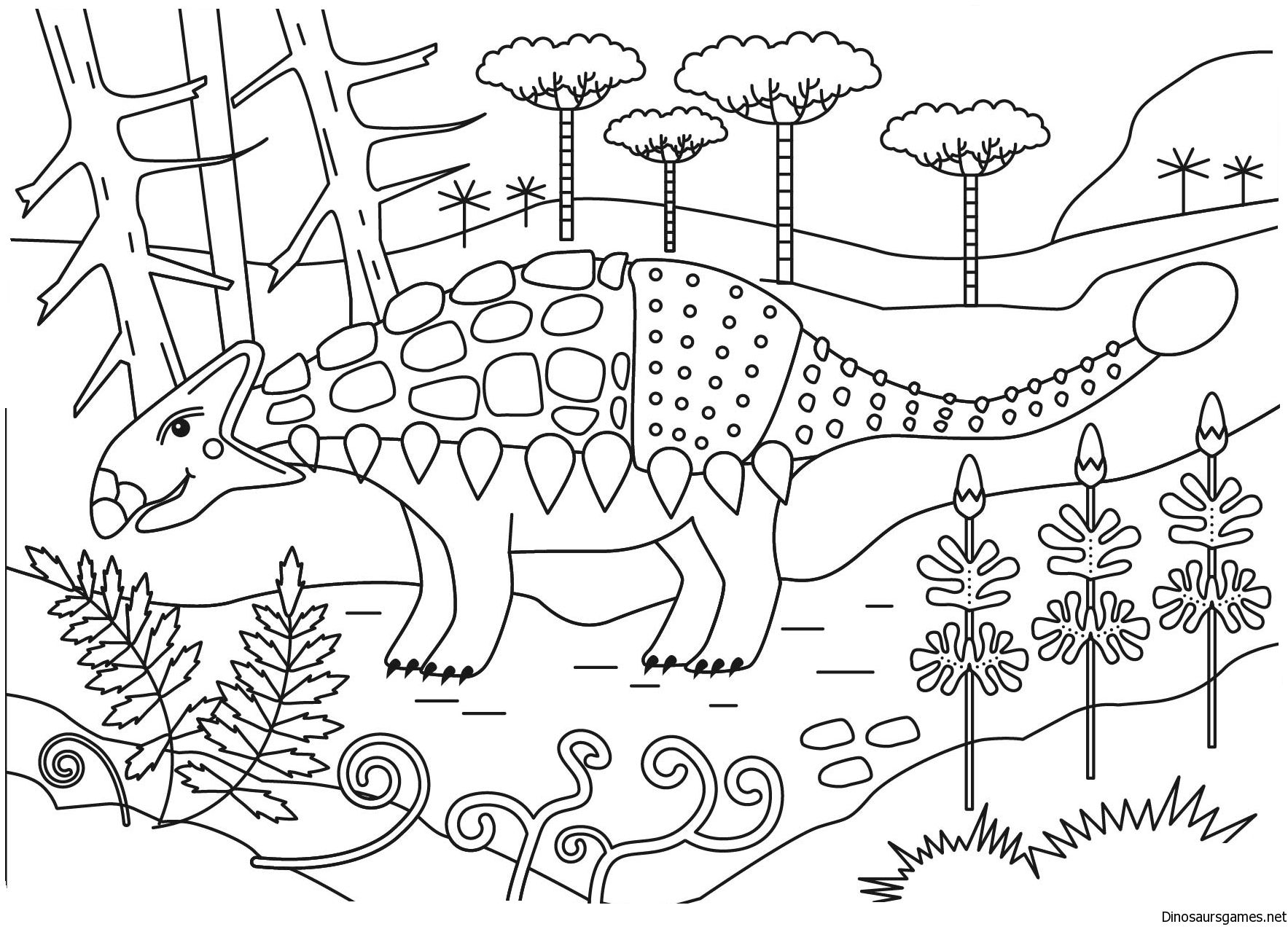 Dinosaurcoloringpages Dinosaurs Dinosaur