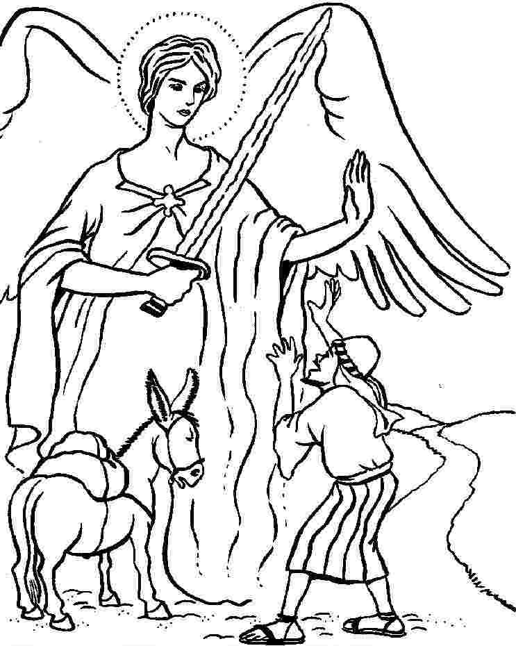 Coloring Festival Balaam And The Talking Donkey Coloring Pages