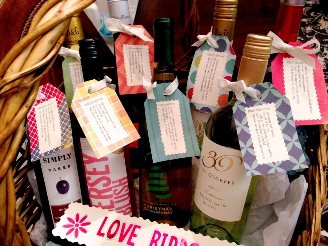 Wedding Gifts Wine: How To Easily Make A Wedding Wine Basket