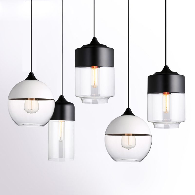 Find more pendant lights information about modern pendant lights find more pendant lights information about modern pendant lights black pendant lamp glass lamp shade kitchen fixture ceiling hanging lamp luminaria home mozeypictures Gallery