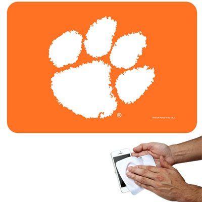 Clemson Tigers 4.5'' x 6.5'' Mini Tech Towel