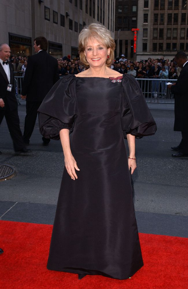 Barbara Walters Style Evolution