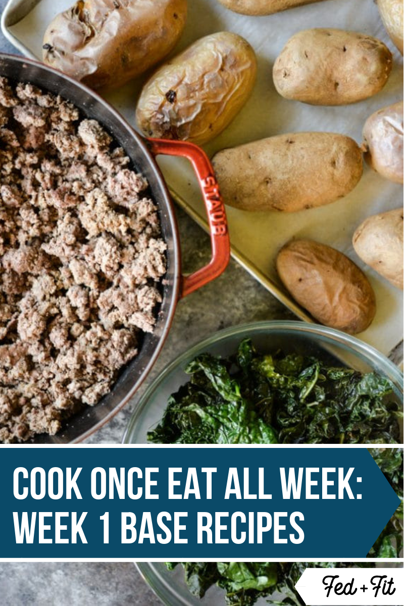 Cook Once Eat All Week Week 1 Meal Prep Recipes Recipe Paleo Recipes Organic Dinner Recipes Paleo Meal Prep