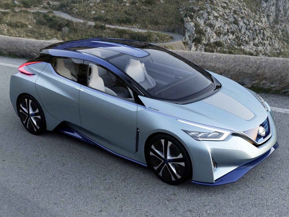 new nissan electric crossover or sports car in the offing  hints senior vp