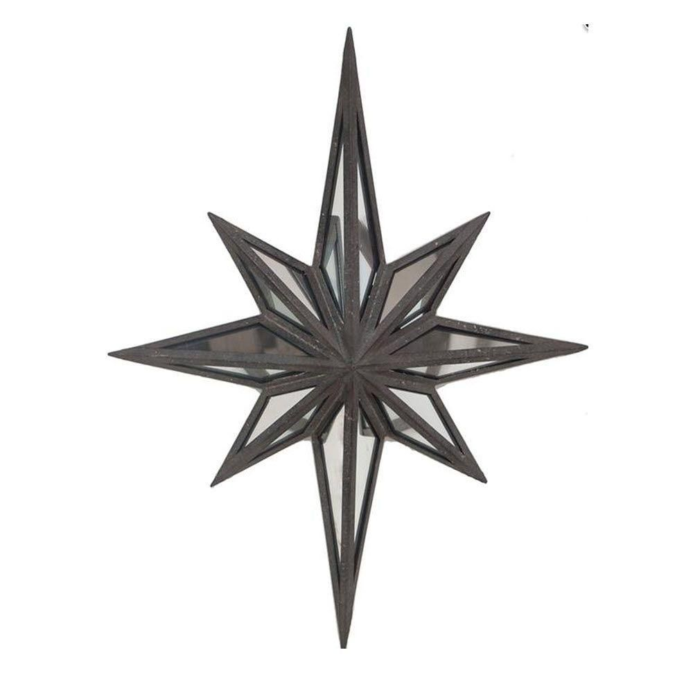 Etoile 23 5 In H Black Wall Plaque 1943800210 Metal Stars Star