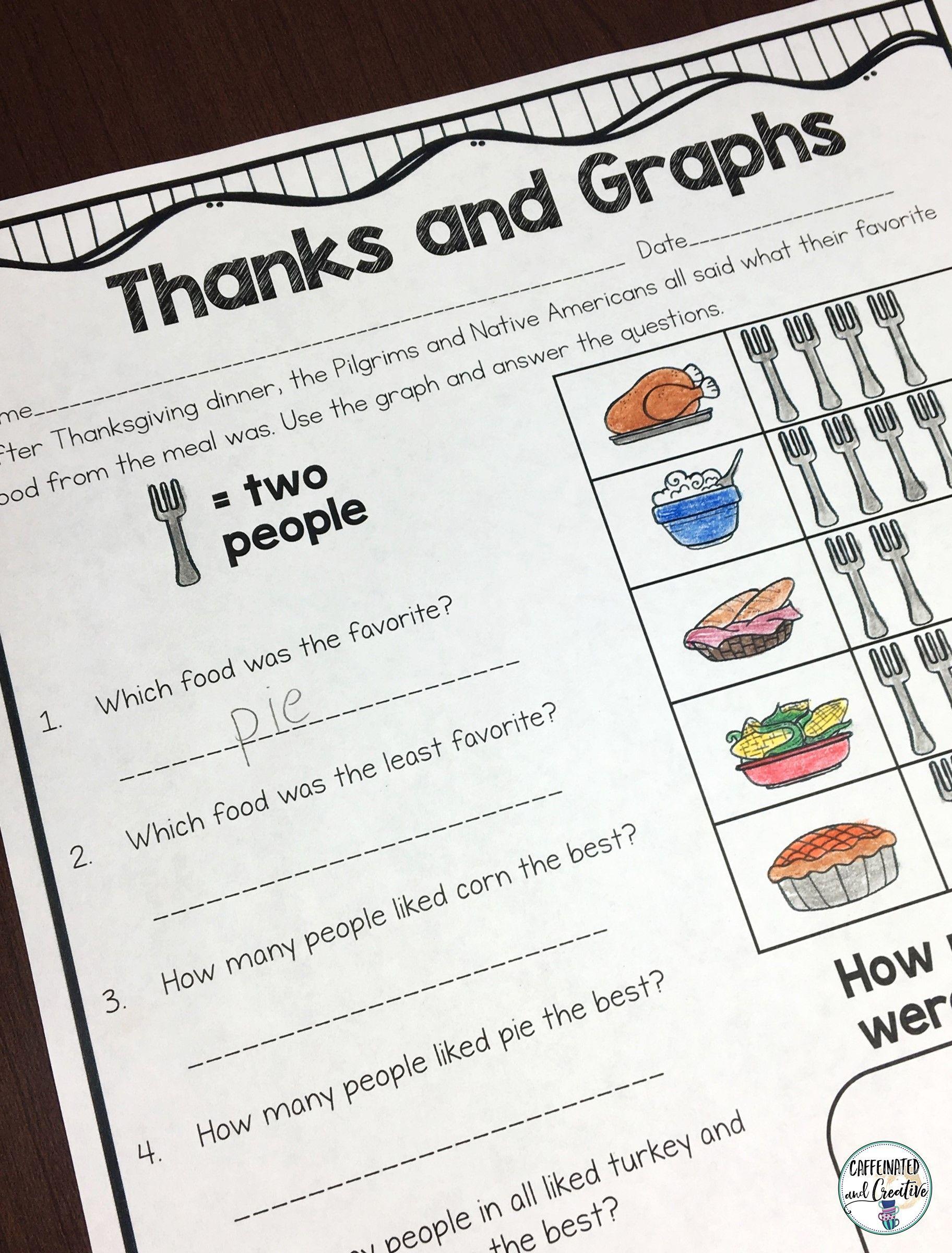 Thanksgiving Mega Bundle For Second Grade