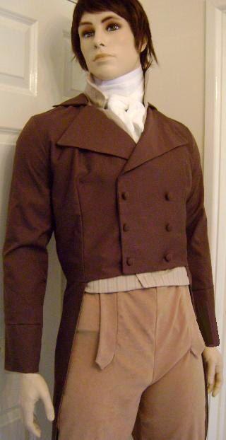 Custom Made Regency And Victorian Men S Clothing