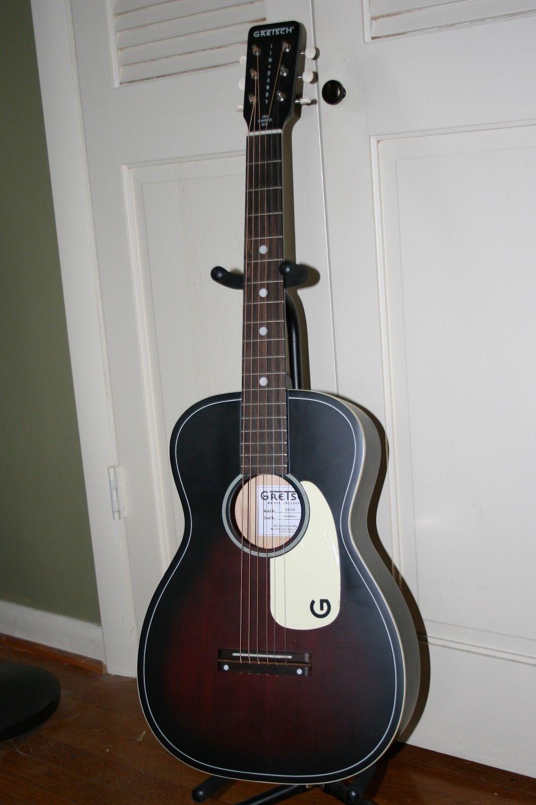 Gretsch Acoustic Guitars >> Guitar Gretsch Guitars G9520 Jim Dandy Flat Top Acoustic Guitar