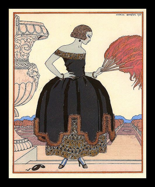 George Barbier -La Pavane GTY (Bon Ton) | Flickr - Photo Sharing!