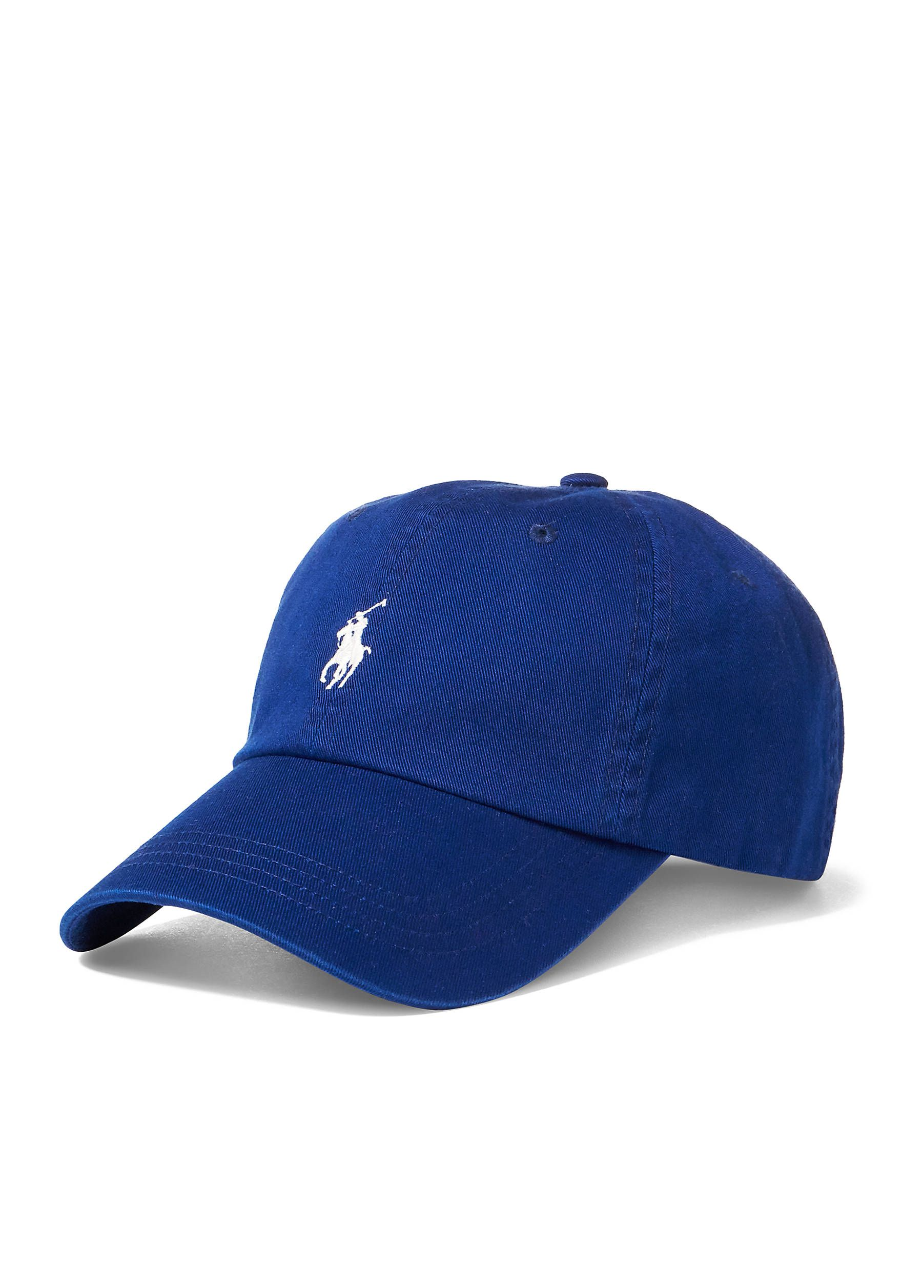16953fe0a1764 Polo Ralph Lauren Classic Chino Sports Cap Fall Royal Men s Accessories Hats   FallRoyal 32016021208802