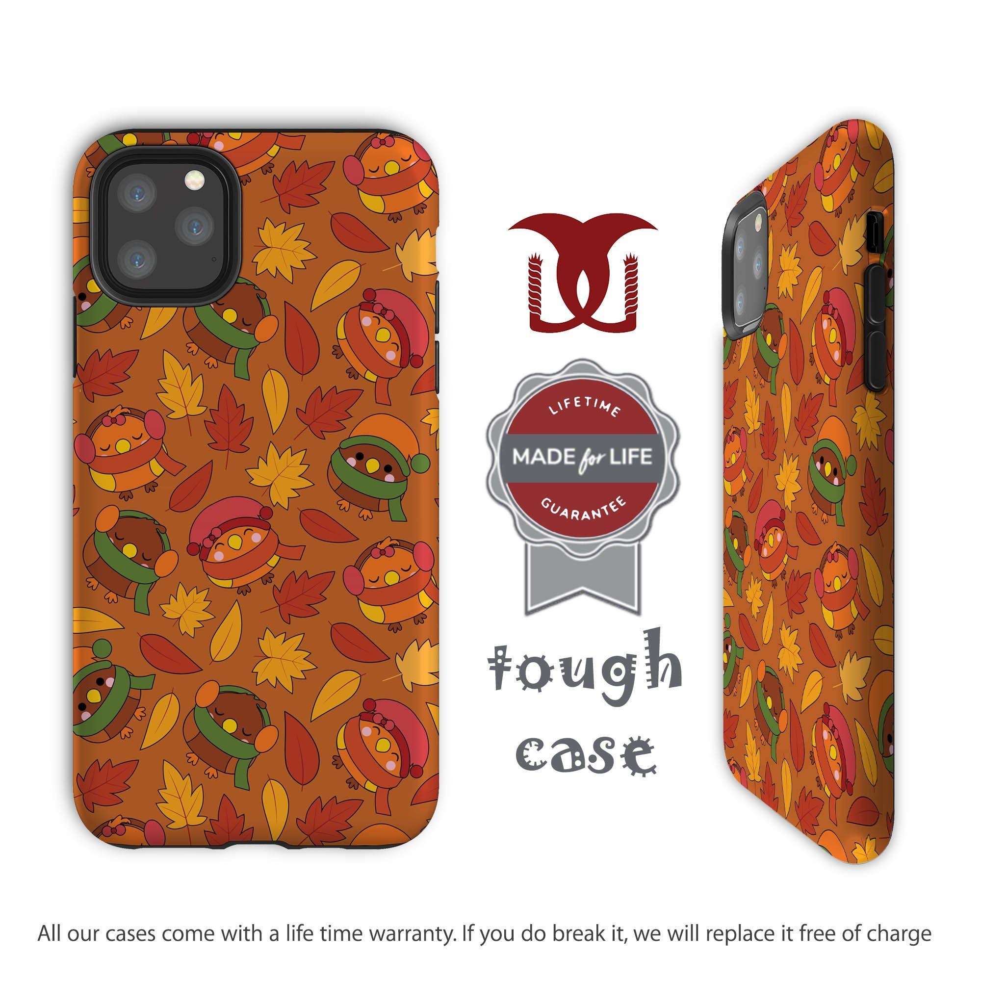 Orange Bird iphone 11 case