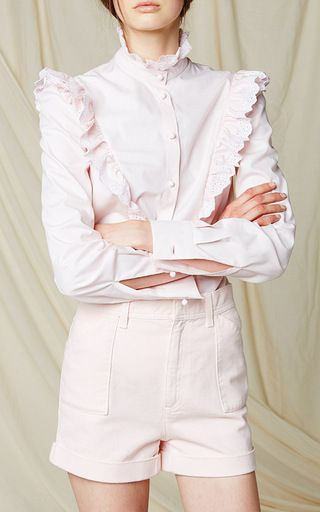 This long sleeve **Philosophy di Lorenzo Serafini** shirt is rendered in  cotton. Ruffle BlouseThe OrderPink ...