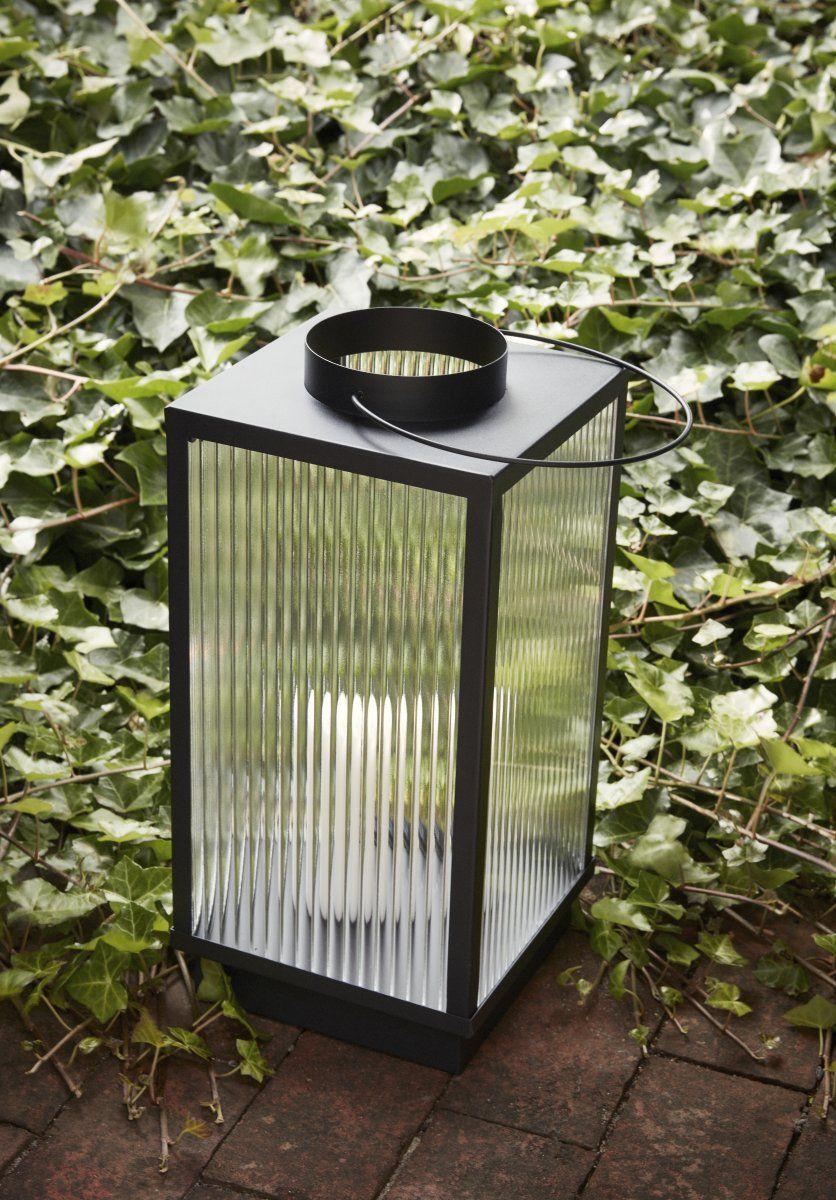 Hubsch Gartenlaternen Glas Metall Schwarz In 2020 Laterne Garten Metall Laterne Hubsch Interior