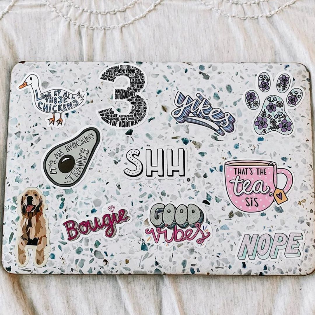 6379 Best Sticker Love #MadEDesigns images in 2020 | Cute laptop stick