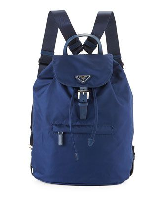 29aa7f02853 Tessuto Camouflage Backpack, Blue (Royal) by Prada at Neiman Marcus.   Pradahandbags   Prada handbags   Pinterest   Backpacks, Camouflage backpack  and Prada
