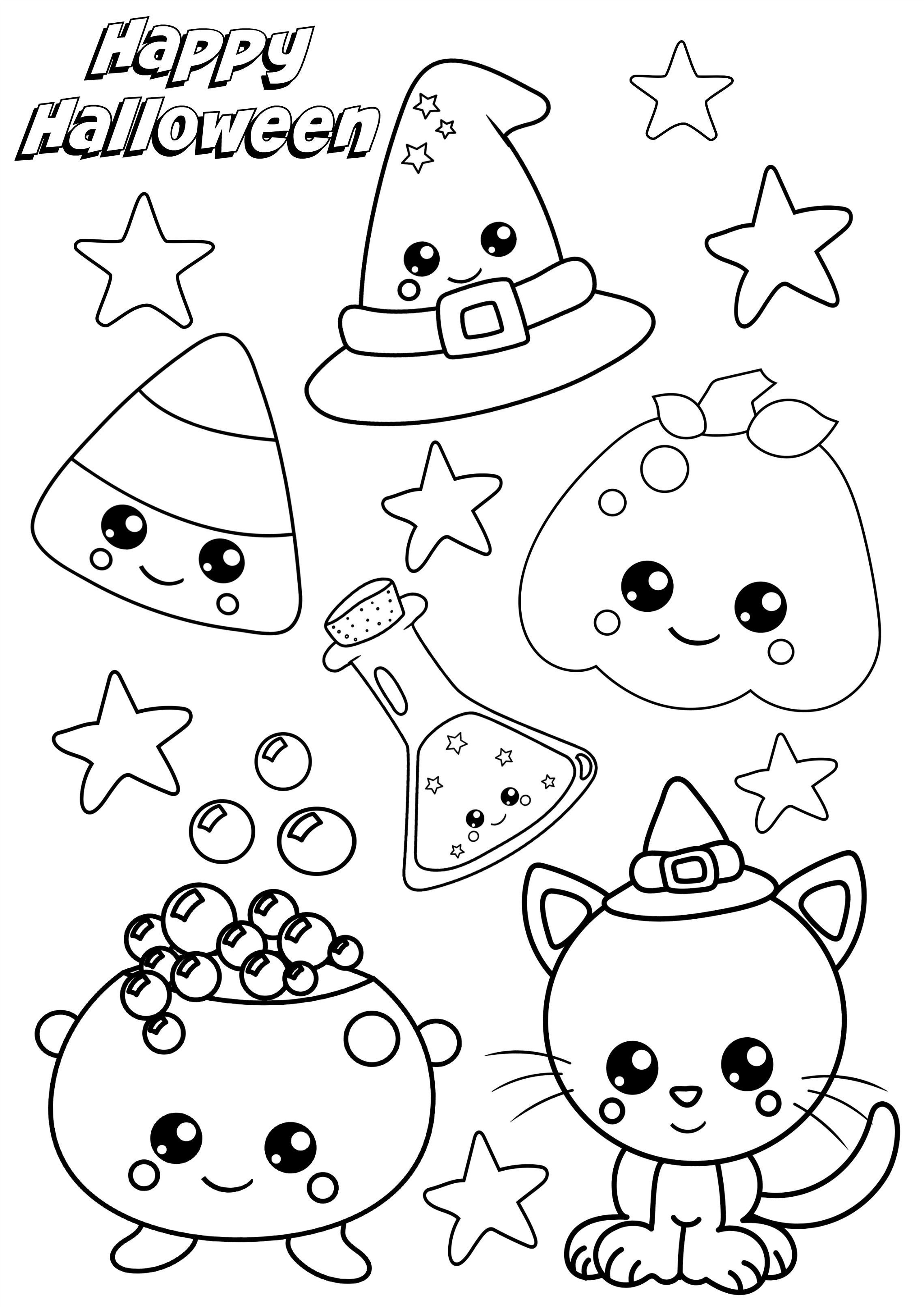 Halloweencoloringpages In 2020 Halloween Coloring Pages Halloween Coloring Free Halloween Coloring Pages