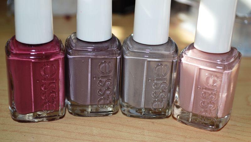 Some of my favourites! L-R - Essie Angora Cardi, Essie Merino Cool ...