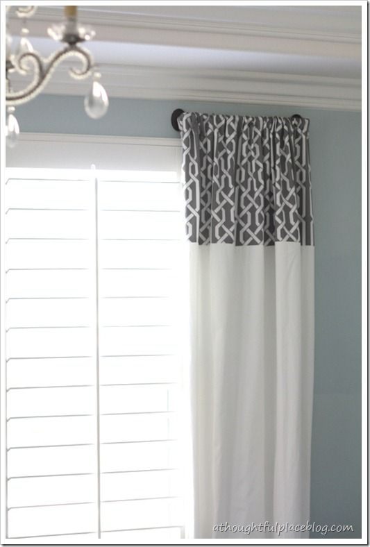 great idea for curtains w/out having to spend a fortune