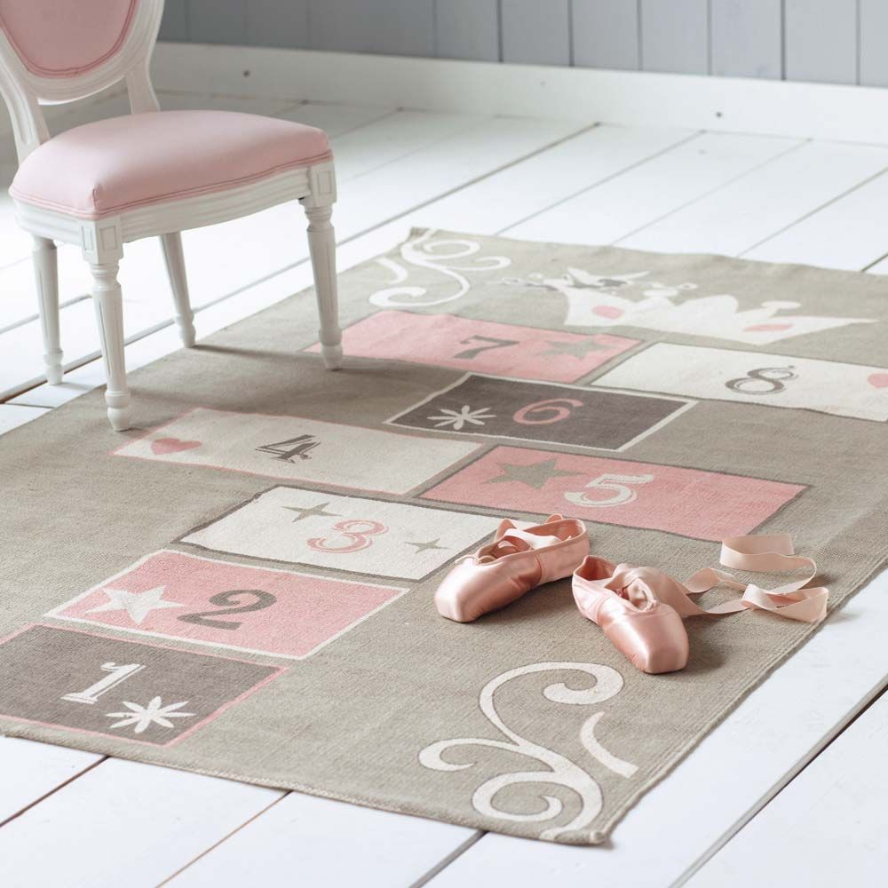 The Pink U0026 Grey Rug For Girls Playroom...need To Find This!