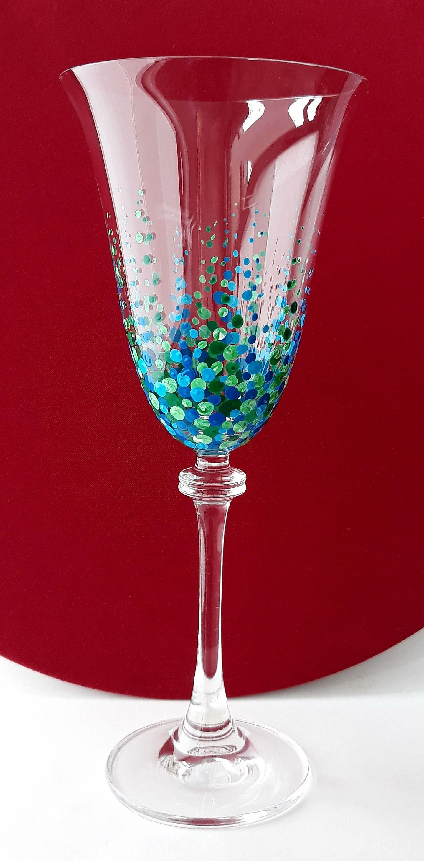 Debby Store Glass Painting Glass Glassware