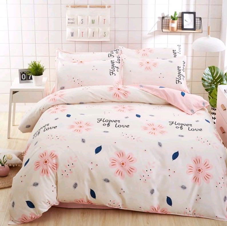Home Textile Fashion Pastoral Style 4 Pcs Bedding Set Bed Etsy In 2021 Full Bedding Sets Bed Linens Luxury Bedding Sets