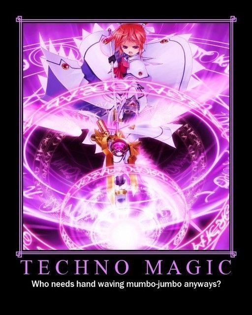 Magitech | Anime De/Motivational Pictures | Magical girl